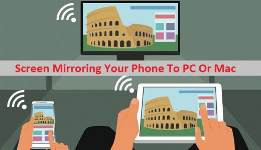Screen Mirroring Your Phone To PC Or Mac